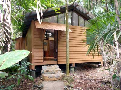 cabin in the Daintree rain forest