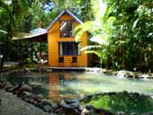 room with ensuite accommodation at cape tribulation